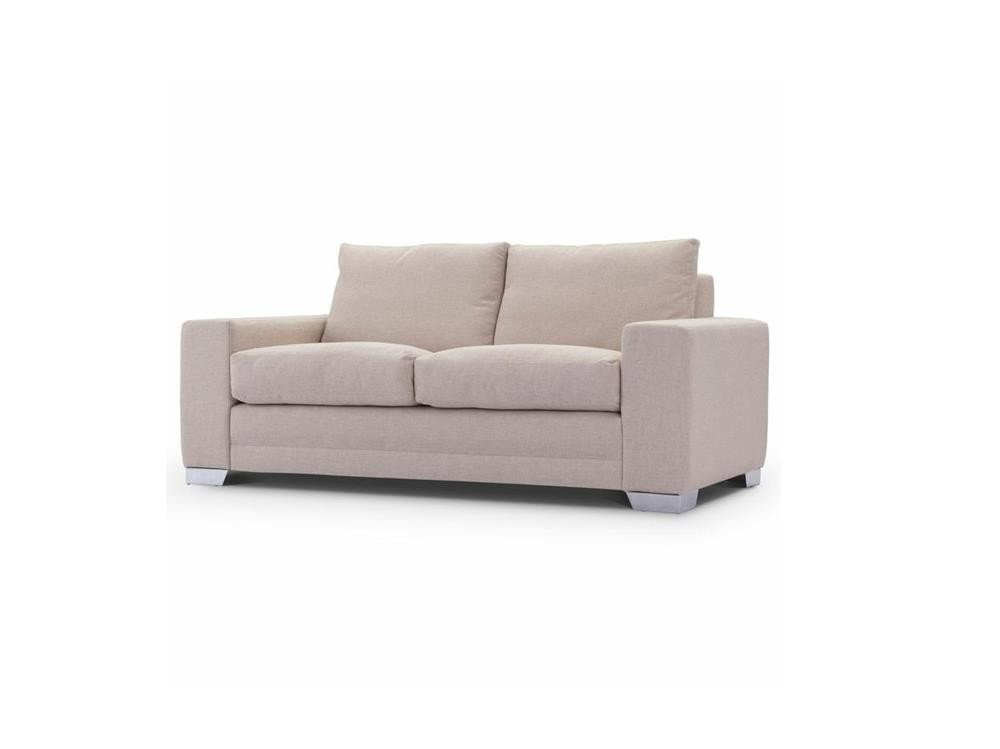 Chelsea Luxury medium sofa in Senna Marmore fabric 1 at Just British Sofas the luxury sofa experts
