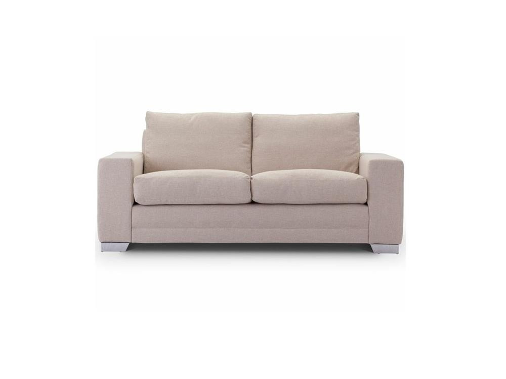 Chelsea Luxury medium sofa in Senna Marmore fabric 2 at Just British Sofas the luxury sofa experts