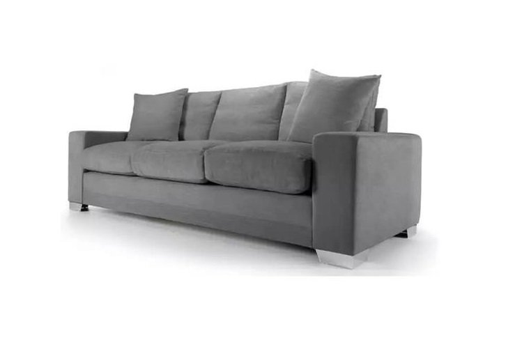 Chelsea sofa in senna grey fabric
