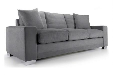 Chelsea Luxury Sofa Range of sofas and sofa beds shown here in Senna Grey