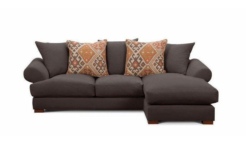 Belgravia Luxury chaise sofa at Just British Sofas Ltd