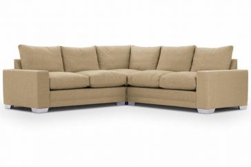 Chelsea Luxury Corner Sofas at Just British Sofas in Ancona Wheat 1
