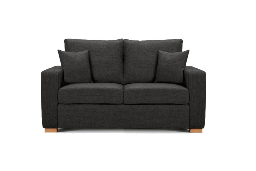 Camberwell 2.5 seater sofa at Just British Sofas in Anthracite 2