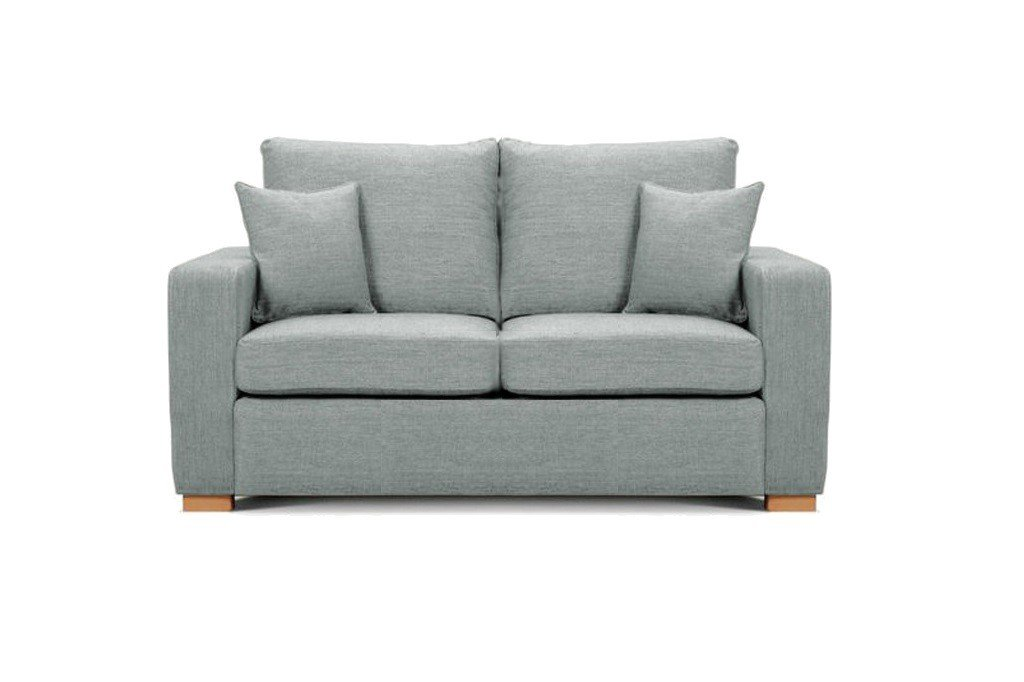 Camberwell 2.5 seater sofa at Just British Sofas in Light Grey 2