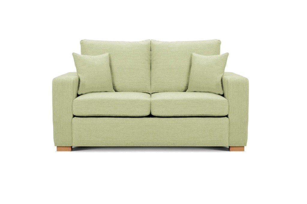 Camberwell 2.5 seater sofa at Just British Sofas in Lime 2