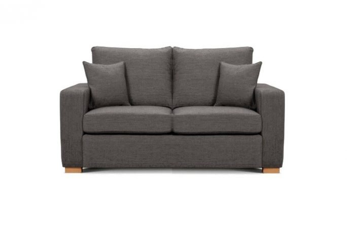Camberwell 2.5 seater sofa at Just British Sofas in Storm 2