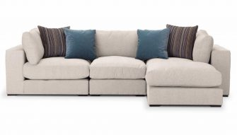 Modular sofa The Modbury at Just British Sofas In Cream