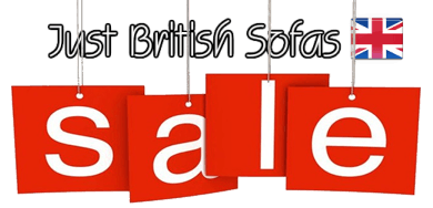 Sofa sale at Just British Sofas