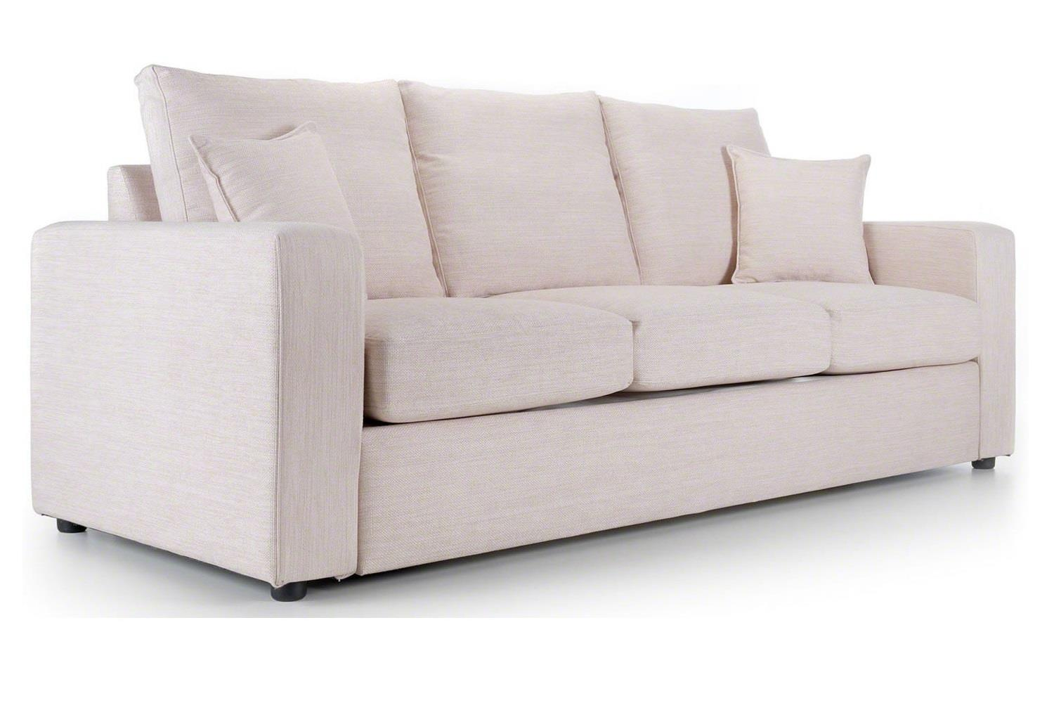 The Camberwell sofas at Just British Sofas in Taupe 2