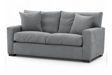 York Linara Sofa at Just British Sofas In Linara Magnesium 2018