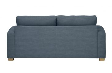 Mark Webster New York Sofa in Blue Grey at Just British Sofas 01932 506558 Image 1