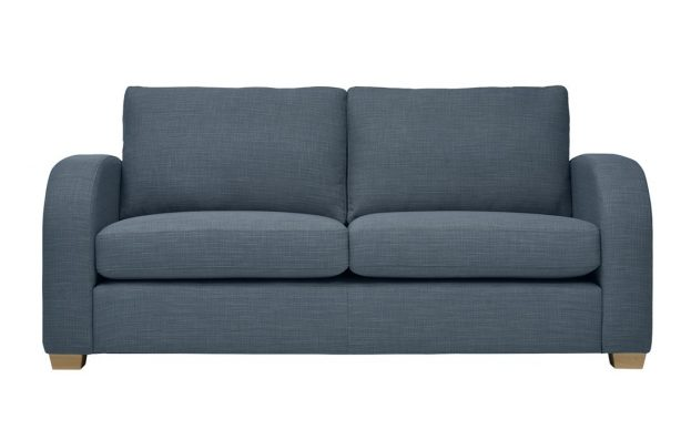 Mark Webster New York Sofa in Blue at Just British Sofas 01932 506558 Image 2