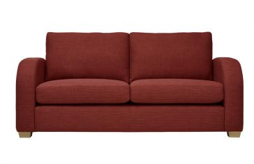 Mark Webster New York Sofa in Terracotta at Just British Sofas 01932 506558 Image 1