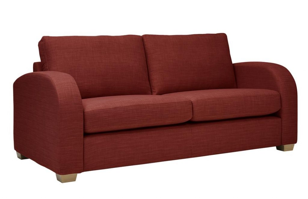 Mark Webster New York Sofa in Terracotta at Just British Sofas 01932 506558 Image 2