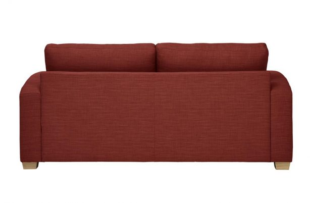 Mark Webster New York Sofa in terracotta at Just British Sofas 01932 506558 Image