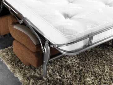 JAYBE CHAIR BED Retro Chair – Mattress Detail at Just British Sofas