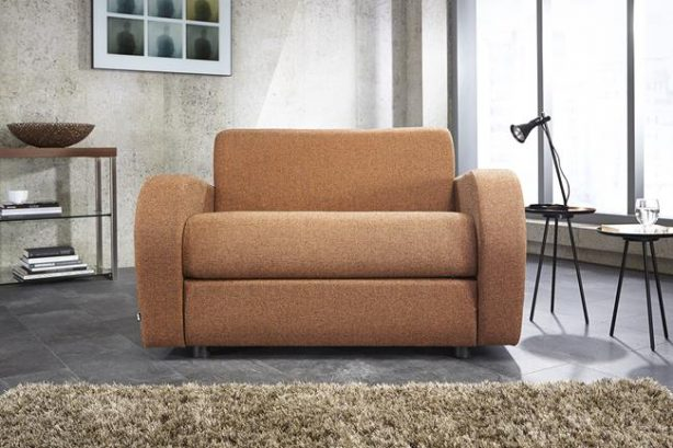 JAYBE CHAIR BED Retro Chair - Sofa Front On at Just British Sofas