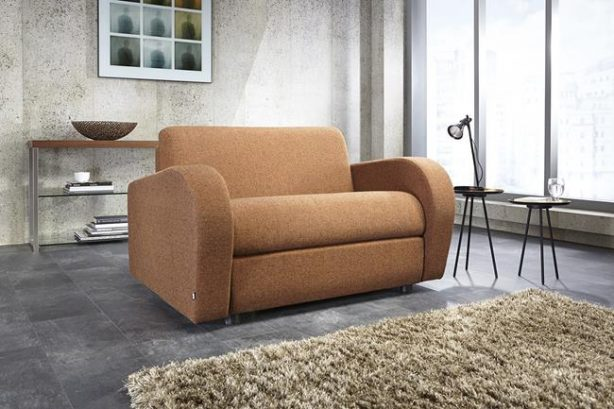 JAYBE CHAIR BED Retro Chair - Sofa from Angle at Just British Sofas