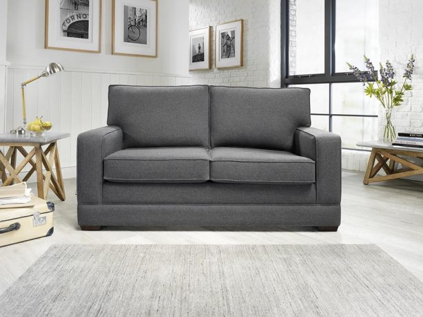 JAYBE MODERN SOFA - Modern Pocket - Sofa Front On at Just British Sofas