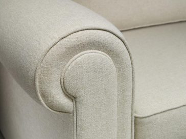 JAYBE SOFA BED Classic Pocket – Arm Detail (2) at Just British Sofas the sofa bed experts