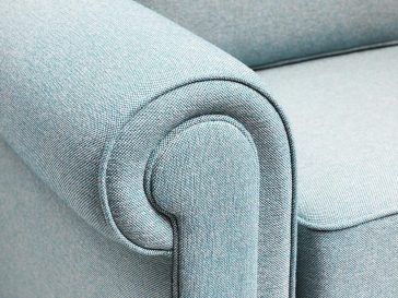 JAYBE SOFA BED Classic Pocket – Arm Detail at Just British Sofas the sofa bed experts