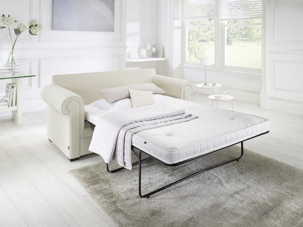 JAYBE SOFA BED Classic Pocket - Bed Dressed at Just British Sofas the sofa bed experts