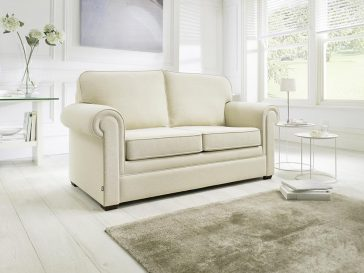 JAYBE SOFA BED Classic Pocket – Sofa from Angle at Just British Sofas the sofa bed experts