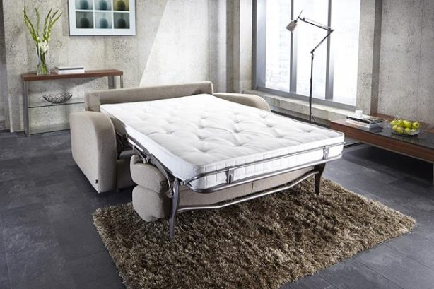 JAYBE SOFA BED Retro 2 Seater - Bed Undressed at Just British Sofas