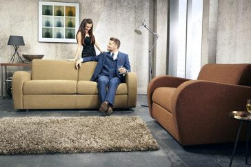 JAYBE SOFA BED Retro 2 Seater – Product Combo A at Just British Sofas
