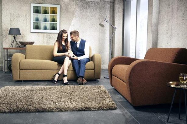 JAYBE SOFA BED Retro 2 Seater - Product Combo B at Just British Sofas