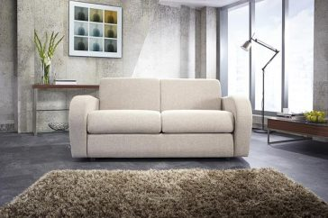JAYBE SOFA BED Retro 2 Seater – Sofa Front On at Just British Sofas