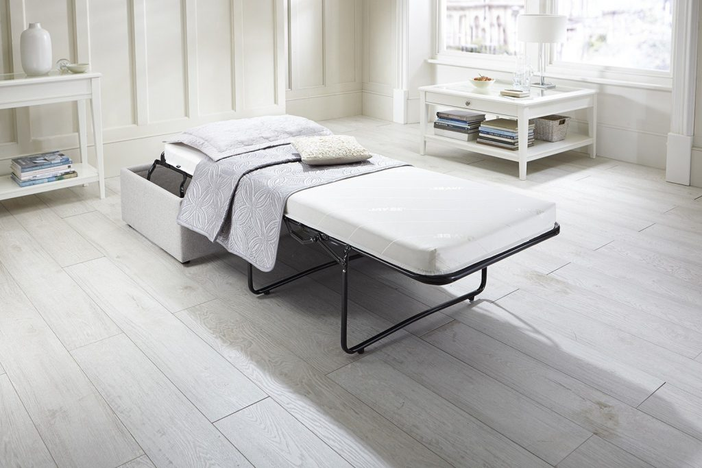 Footstool Airflow - Bed Dressed