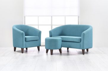 Jaybe Curve 3 piece sofa suite set