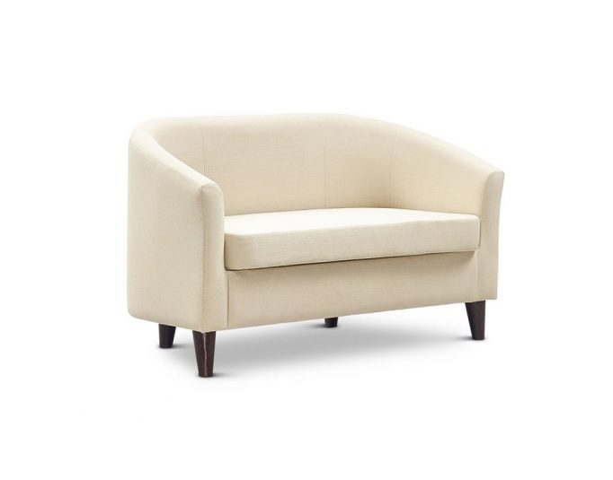 JAYBE CURVE SOFAS NEW Curve Sofa Neutral - Angle at Just British Sofas