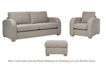 Mark Webster New York Sofa Suite at Just British Sofas in Antelope