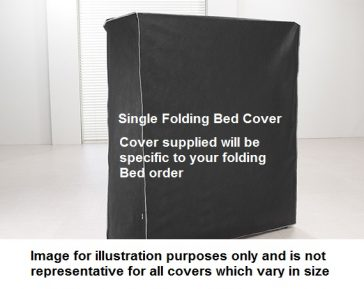 Jaybe single folding bed covers non representative of all models