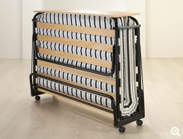 Jubilee Airflow Fibre Double Folding Bed with Cover folded-preview