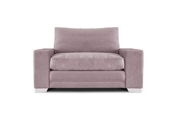 Chelsea Large Loveseat in Senna Grey Fabric 2018