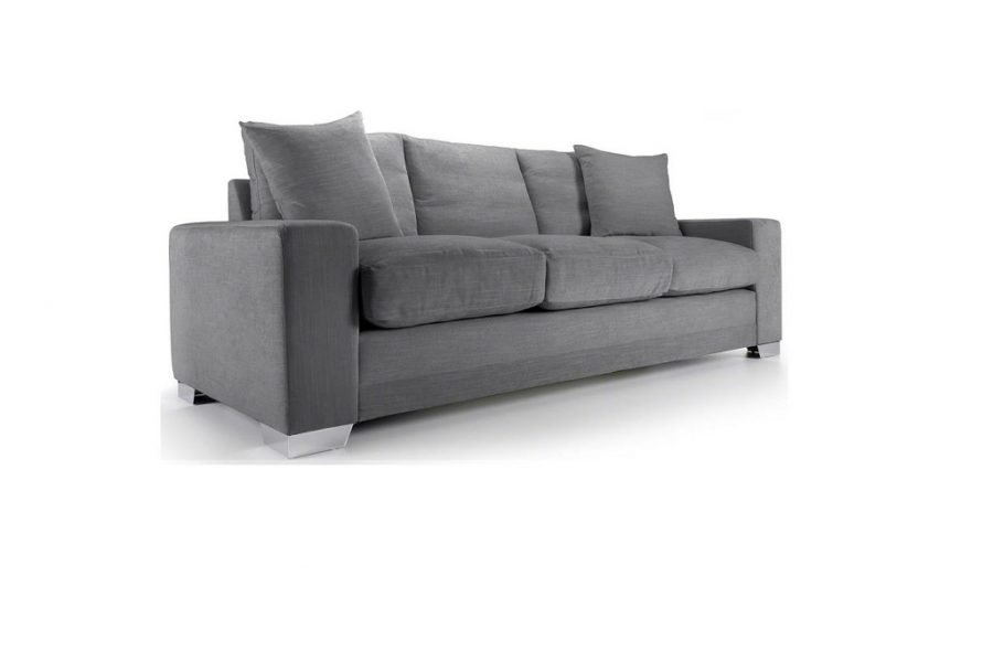 Chelsea sofa or sofa bed in Senna Grey at JBS