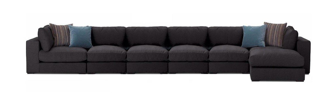 Custom Sectional modular Sofas at Just British Sofas