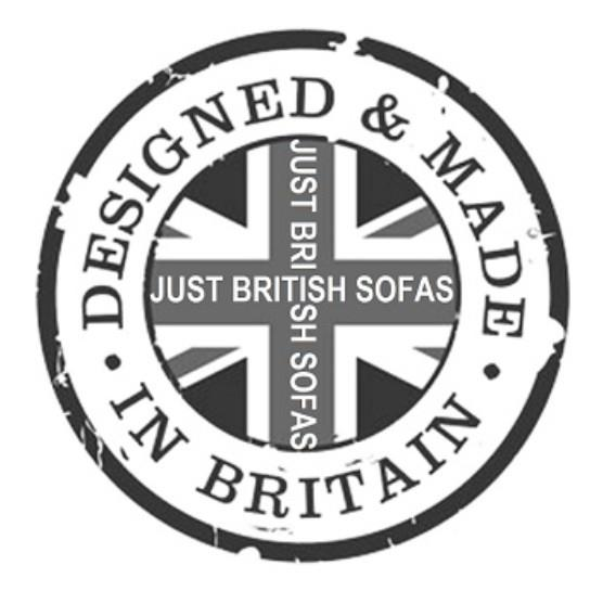 Sofas made in Great Britain by craftsmen at Just British Sofas the sofa experts