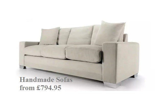 Handmade Sofa SALE now on at Just Britiish Sofas
