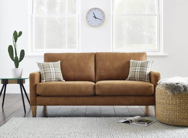 Mark Webster Sofas in Faux Leather at Just British Sofas Ltd the Sofa Specialists 1