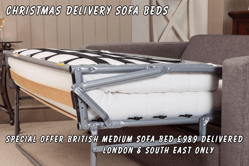 Christmas Delivery Sofa Beds by British Manufacturer Special Offer 3