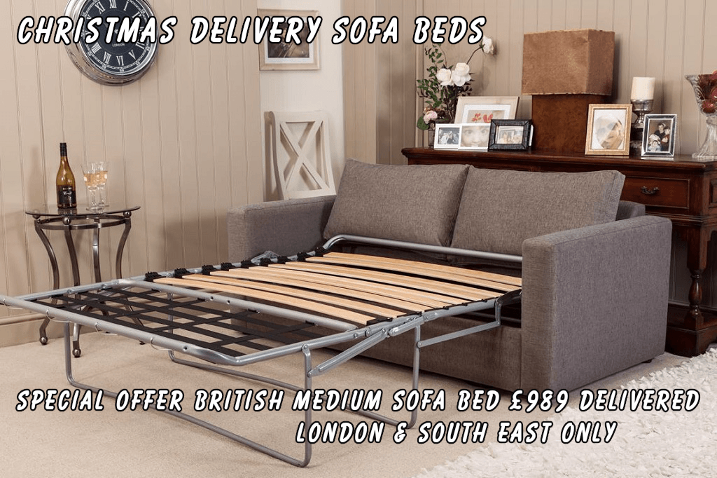 Christmas Delivery Sofa Beds by British Manufacturer Special Offer 4