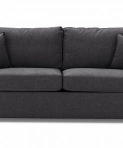 Just-British-Sofas-Sofa-bed-special-offer-British-Made-Medium-sofa-bed-Flared Arms -Colour-Charcoal -2
