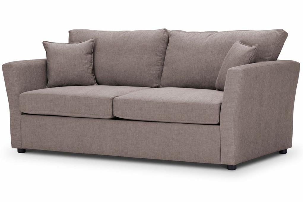 Just-British-Sofas-Sofa-bed-special-offer-British-Made-Medium-sofa-bed-Flared Arms -Colour-Mink -1