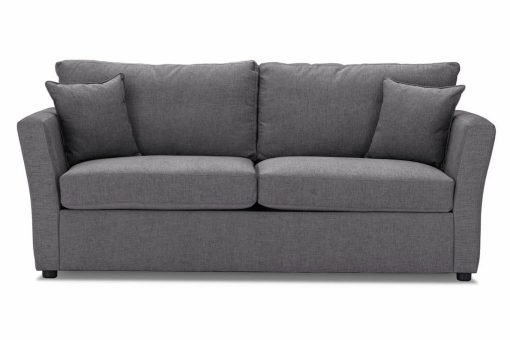 Just-British-Sofas-Sofa-bed-special-offer-British-Made-Medium-sofa-bed-Flared Arms -Colour-Steel -2