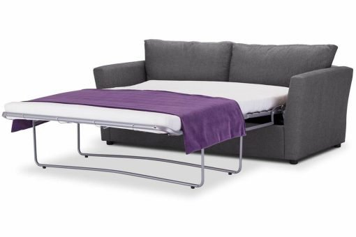 Just-British-Sofas-Sofa-bed-special-offer-British-Made-Medium-sofa-bed-Flared Arms -Colour-Steel -3