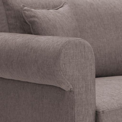 Sofa-bed-special-offer-British-Made-Rounded arms - Medium-sofa-bed-Colour-Mink-4